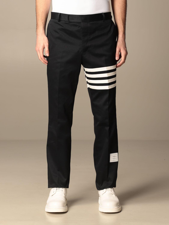 Trousers Thom Browne: Trousers men Thom Browne navy 1