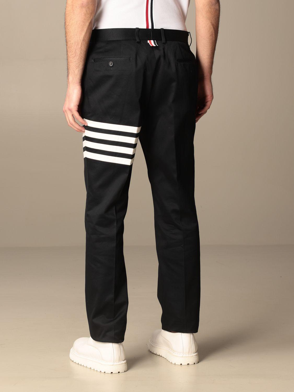 Trousers Thom Browne: Trousers men Thom Browne navy 3