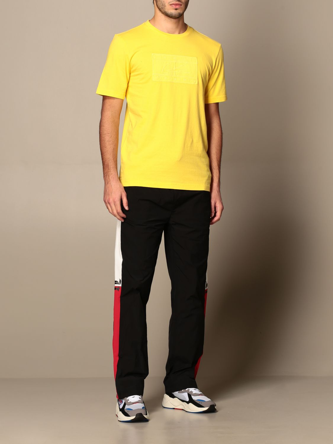 T-shirt Hilfiger Collection: Lewis Hamilton relaxed fit cotton T-shirt yellow 2