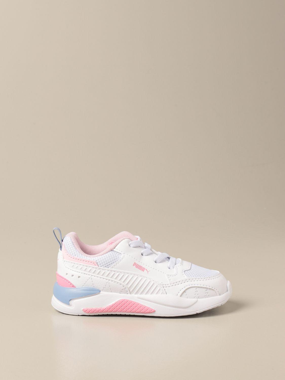 Scarpe Puma: Sneakers X-ray 2 Square Puma in pelle sintetica bianco 1 1