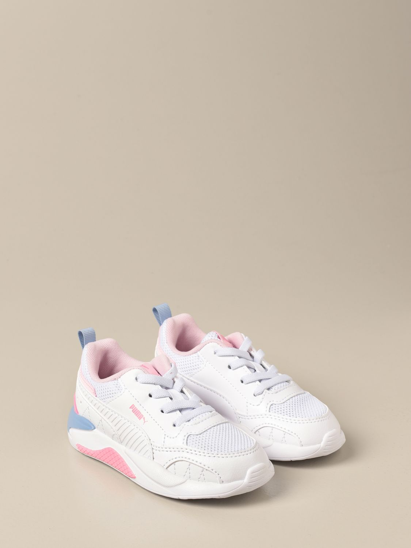Scarpe Puma: Sneakers X-ray 2 Square Puma in pelle sintetica bianco 1 2