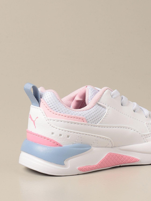 Scarpe Puma: Sneakers X-ray 2 Square Puma in pelle sintetica bianco 1 3