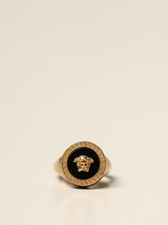 Jewel Versace: Versace ring with Medusa head gold 1