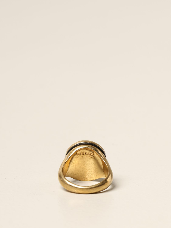 Jewel Versace: Versace ring with Medusa head gold 2