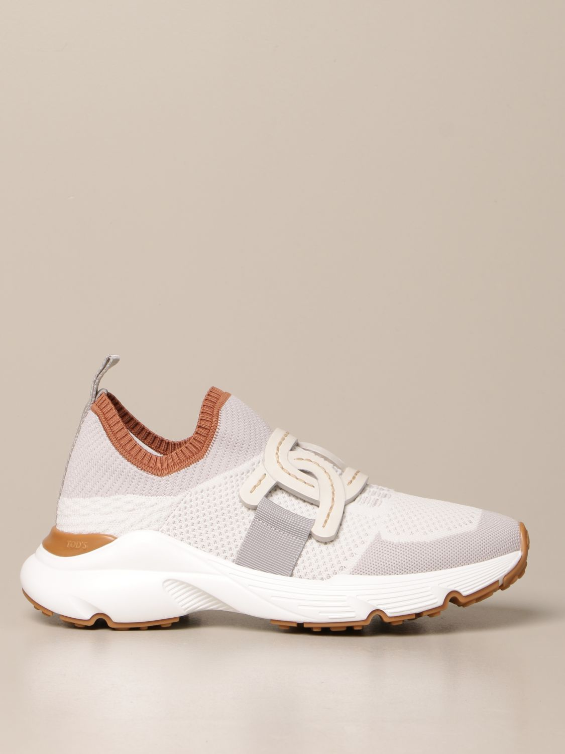 Sneakers Tods: Sneakers Tod's in maglia tecnica grigio 1