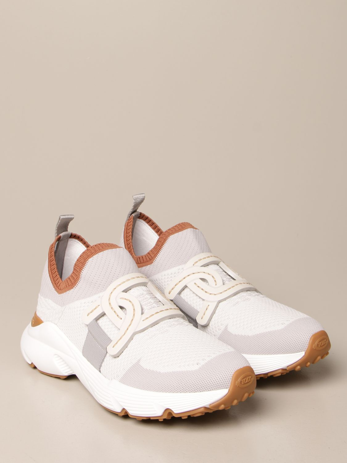 Sneakers Tods: Sneakers Tod's in maglia tecnica grigio 2
