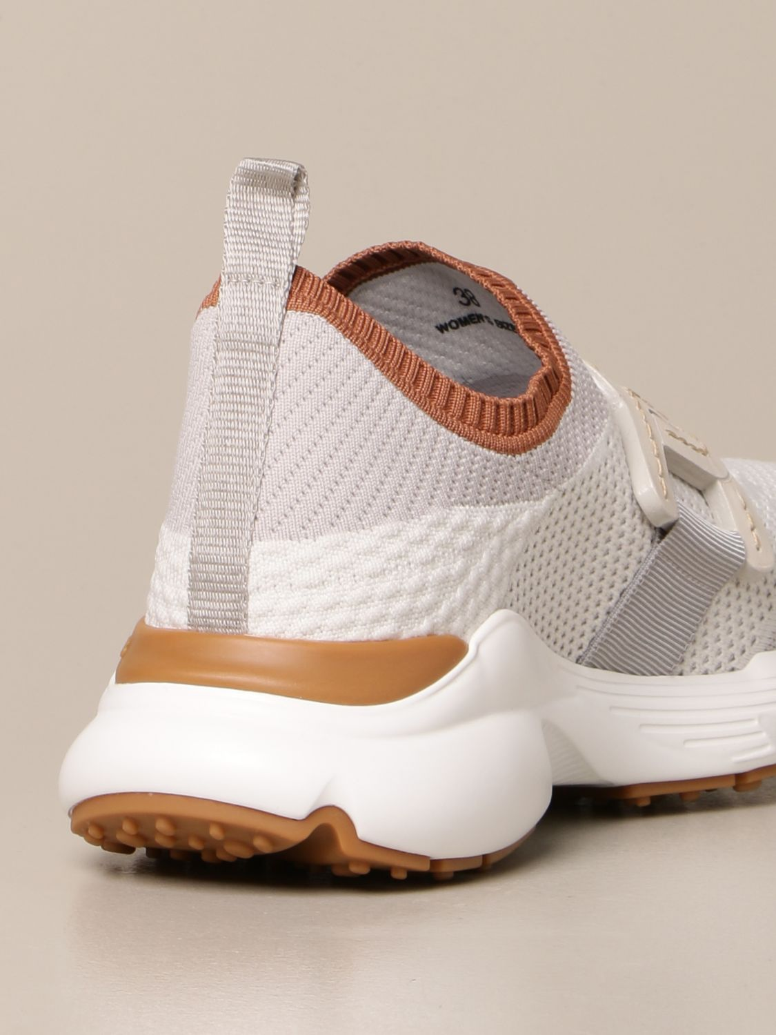 Sneakers Tods: Sneakers Tod's in maglia tecnica grigio 3