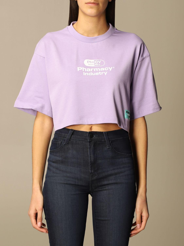 T-Shirt Pharmacy Industry: T-shirt damen Pharmacy Industry lila 1