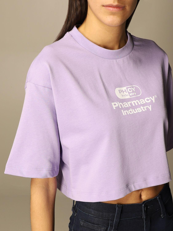 T-Shirt Pharmacy Industry: T-shirt damen Pharmacy Industry lila 4