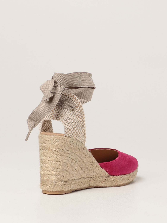 Keilabsatz Schuhe My Chalom: Schuhe damen My Chalom fuchsia 3