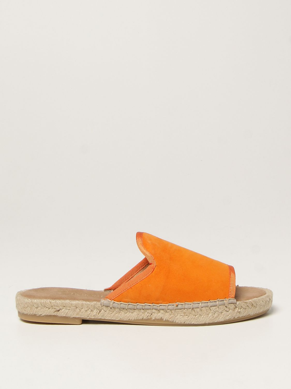 Flache Sandalen My Chalom: Schuhe damen My Chalom orange 1