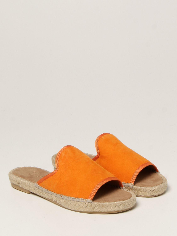 Flache Sandalen My Chalom: Schuhe damen My Chalom orange 2