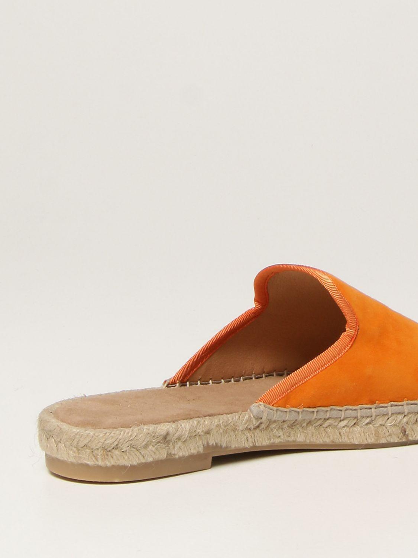 Flache Sandalen My Chalom: Schuhe damen My Chalom orange 3