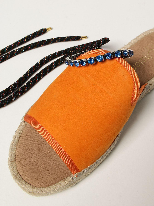 Flache Sandalen My Chalom: Schuhe damen My Chalom orange 4
