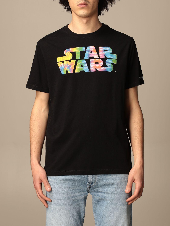 T-shirt Mc2 Saint Barth: MC2 Saint Barth t-shirt in cotton with Star Wars print black 1