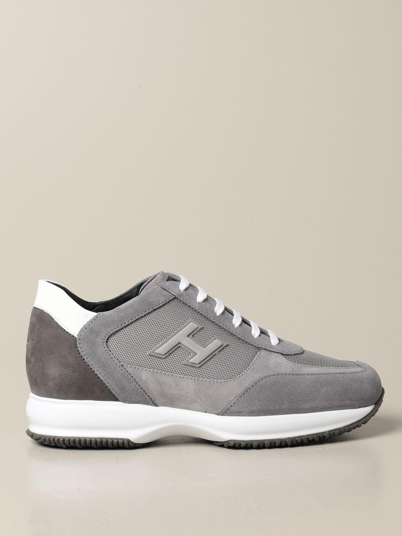 HOGAN: Sneakers interactive in pelle e camoscio | Sneakers Hogan ...