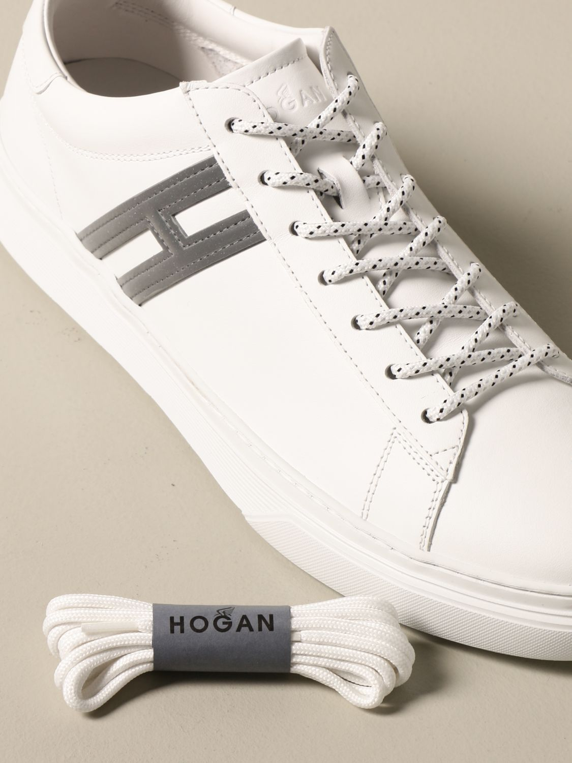 H365 Hogan sneakers in leather with elongated H