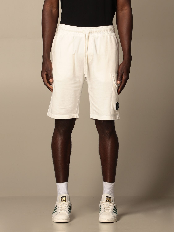 Pantalones cortos C.p. Company: Pantalones cortos hombre C.p. Company blanco 1