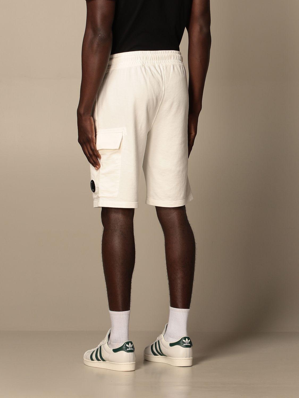 Pantalones cortos C.p. Company: Pantalones cortos hombre C.p. Company blanco 2