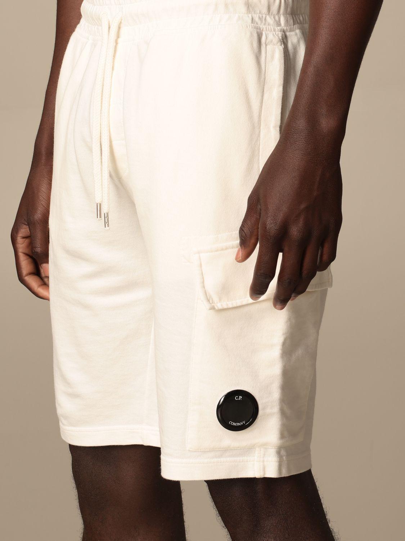 Pantalones cortos C.p. Company: Pantalones cortos hombre C.p. Company blanco 4