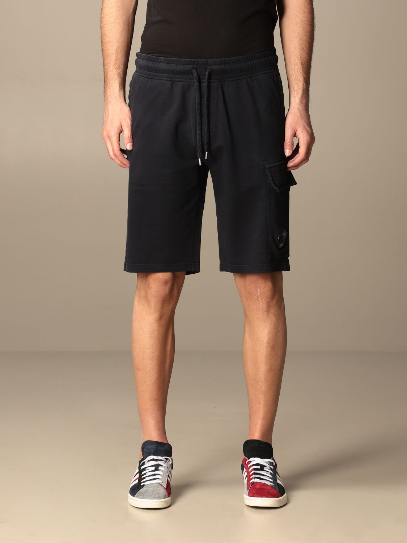 Pantalones cortos C.p. Company: Pantalones cortos hombre C.p. Company azul oscuro 1