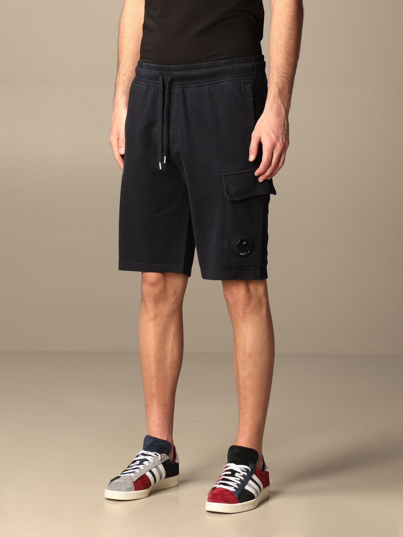 Pantalones cortos C.p. Company: Pantalones cortos hombre C.p. Company azul oscuro 3