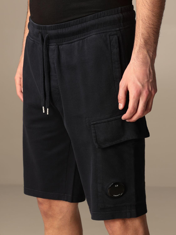 Pantalones cortos C.p. Company: Pantalones cortos hombre C.p. Company azul oscuro 4