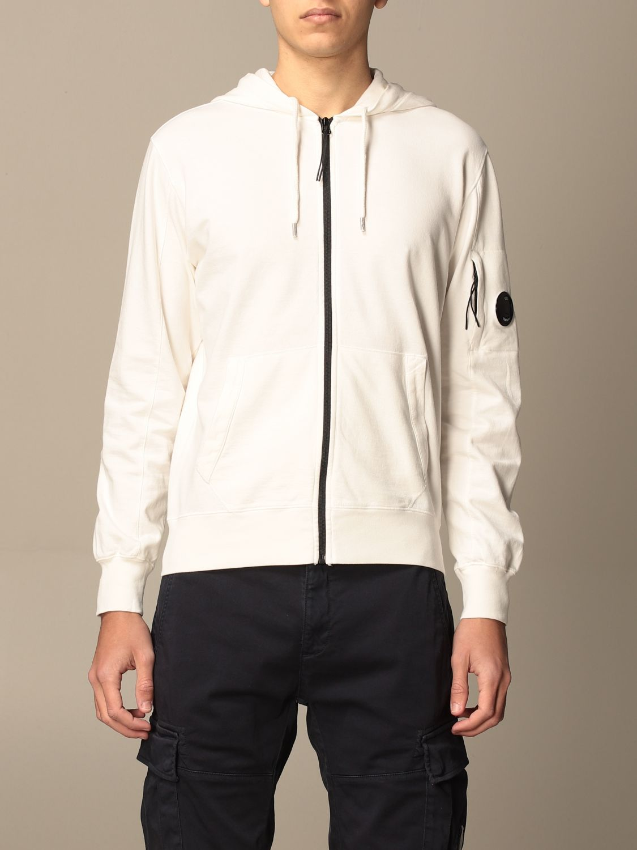 Sweatshirt C.p. Company: Sweatshirt men C.p. Company white 1