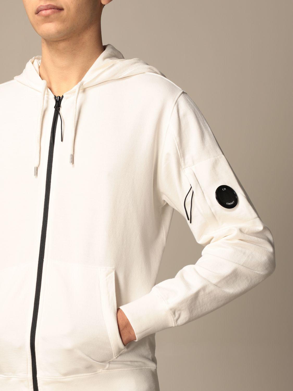 Sweatshirt C.p. Company: Sweatshirt men C.p. Company white 4