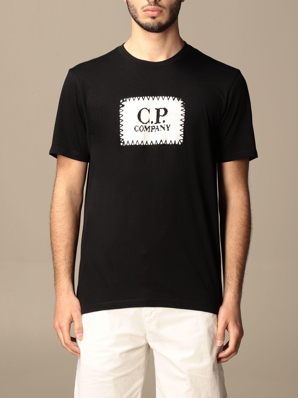 T-shirt C.p. Company: T-shirt homme C.p. Company noir 1