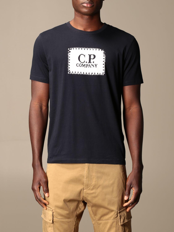 Футболка C.p. Company: Футболка Мужское C.p. Company синий 1