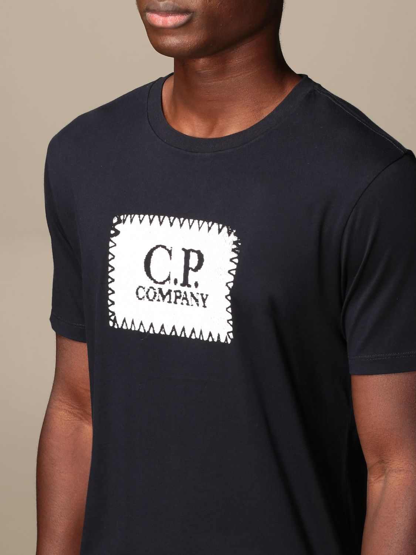 Футболка C.p. Company: Футболка Мужское C.p. Company синий 4