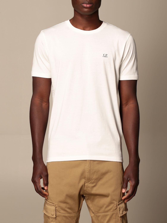Camiseta C.p. Company: Camiseta hombre C.p. Company blanco 1