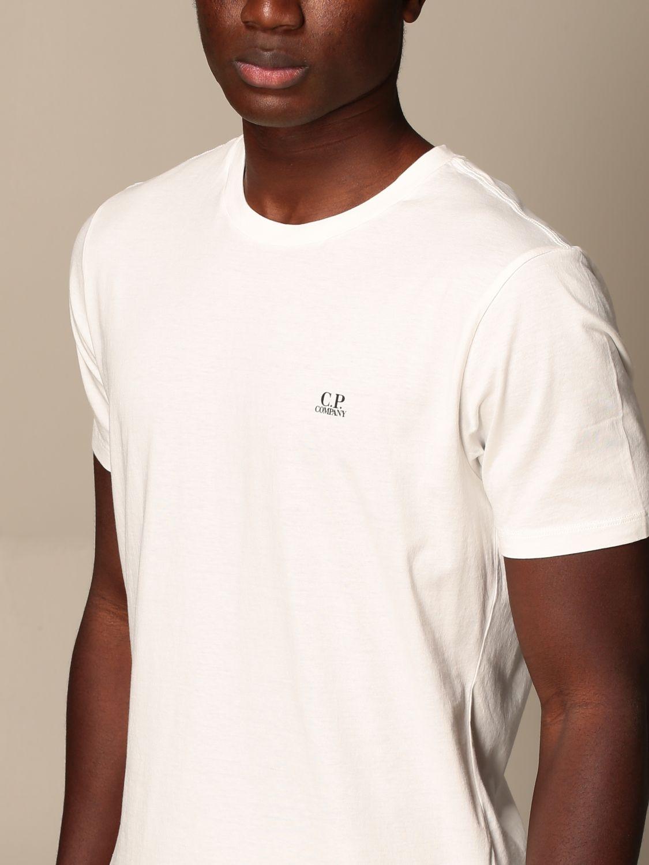 Camiseta C.p. Company: Camiseta hombre C.p. Company blanco 4