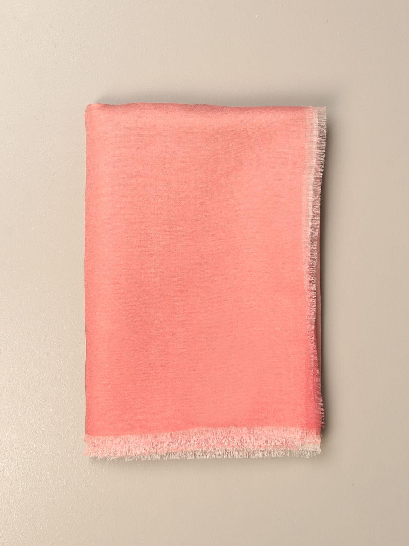 Seidentuch Max Mara: Seidentuch damen Max Mara pink 1