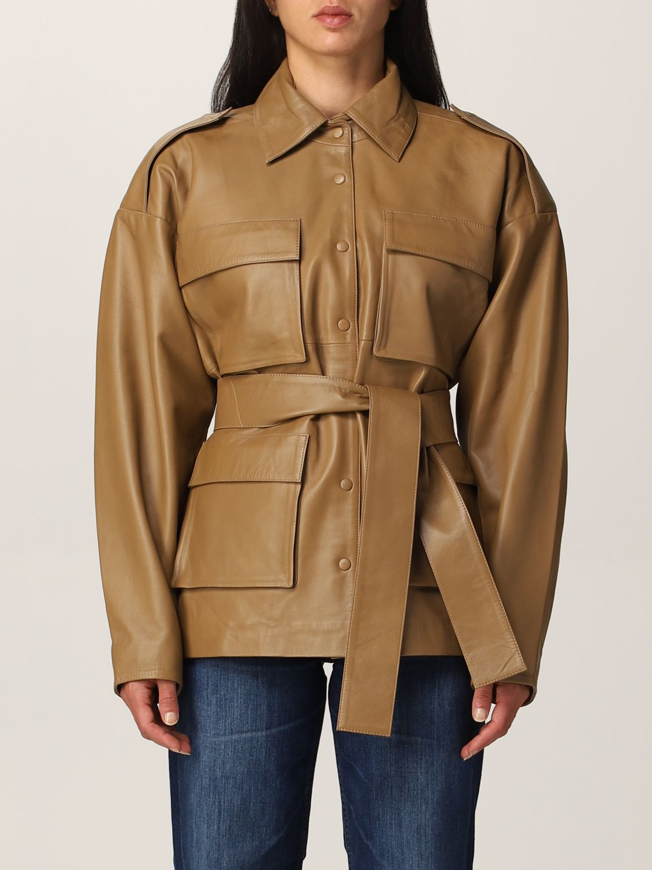 Jacket Remain: Blazer women Remain camel 1