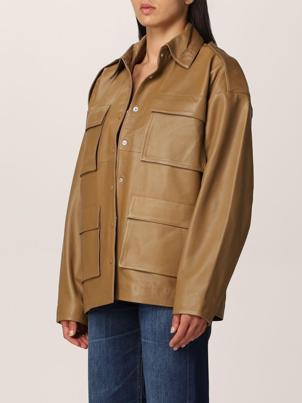 Jacket Remain: Blazer women Remain camel 3