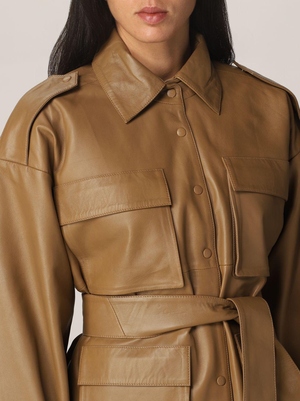 Jacket Remain: Blazer women Remain camel 4