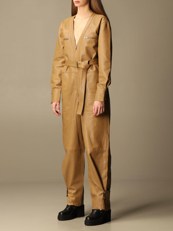 Jumpsuits Remain: Dress women Remain camel 3