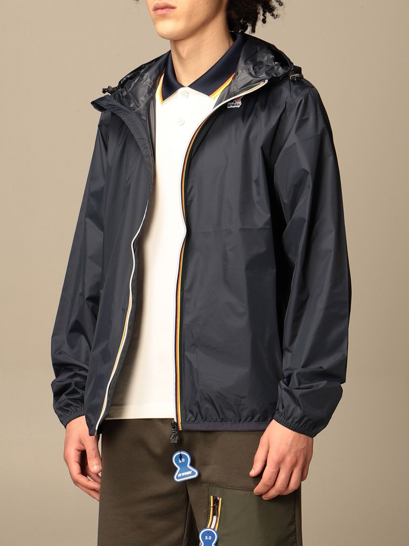 Jacket K-Way: Jacket men K-way navy 3