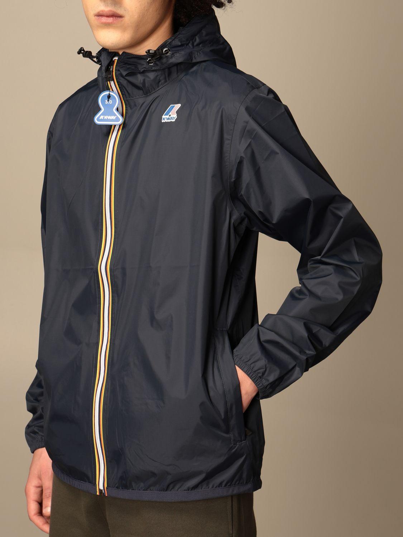 Jacket K-Way: Jacket men K-way navy 4