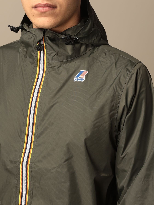 Jacket K-Way: Jacket men K-way military 4