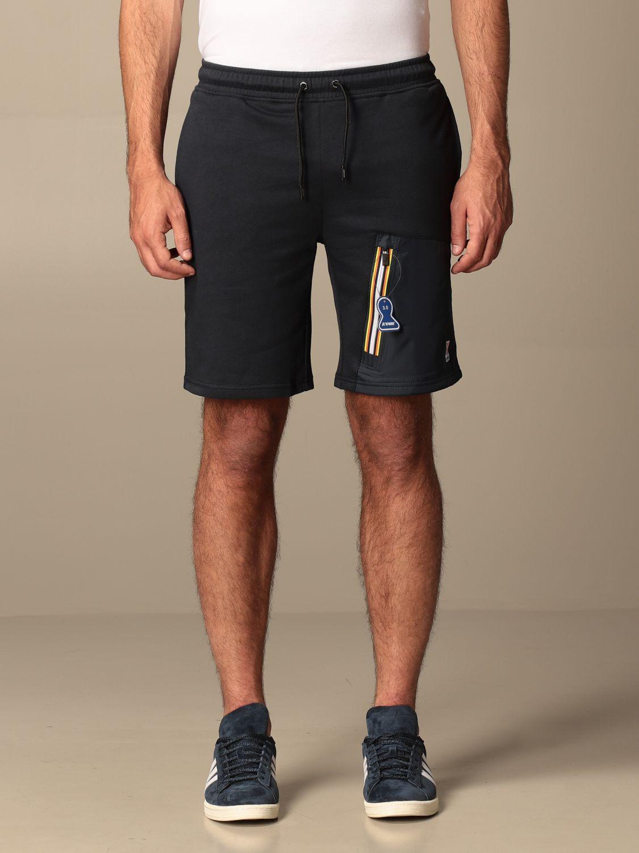 Pantalones cortos K-Way: Pantalones cortos hombre K-way azul marino 1