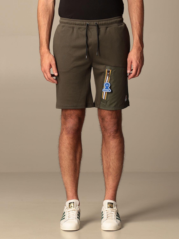 Pantalones cortos K-Way: Pantalones cortos hombre K-way militar 1