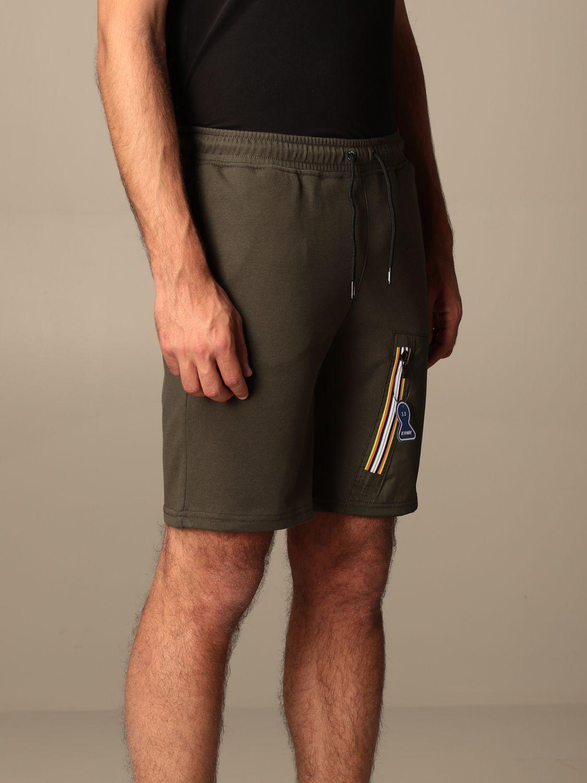 Pantalones cortos K-Way: Pantalones cortos hombre K-way militar 3