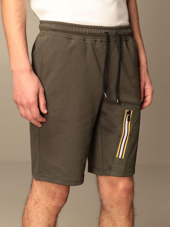 Pantalones cortos K-Way: Pantalones cortos hombre K-way militar 4