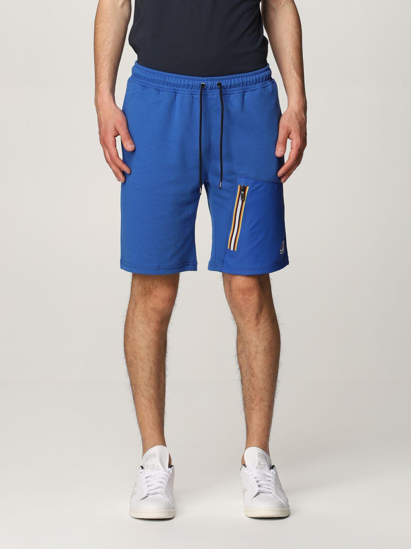 Pantalones cortos K-Way: Pantalones cortos hombre K-way royal blue 1