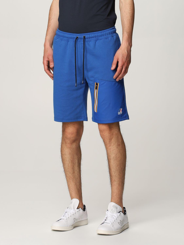 Pantalones cortos K-Way: Pantalones cortos hombre K-way royal blue 3