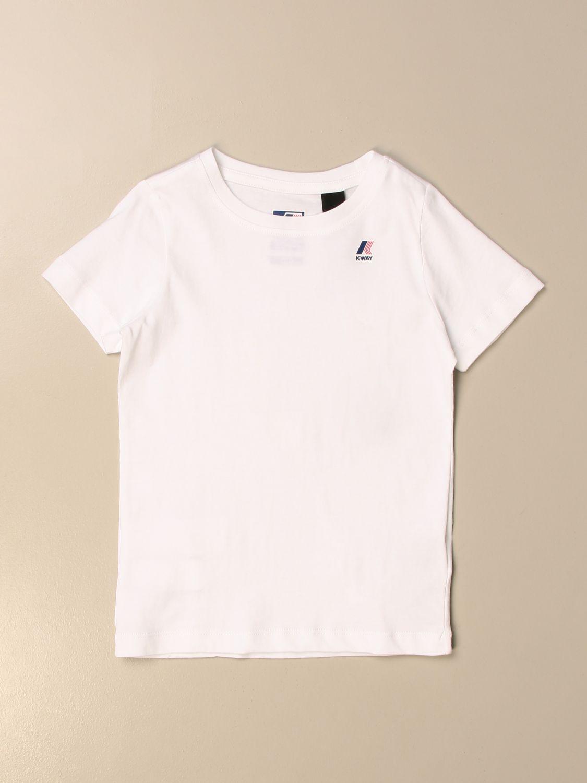 Camiseta K-Way: Camiseta niños K-way blanco 1