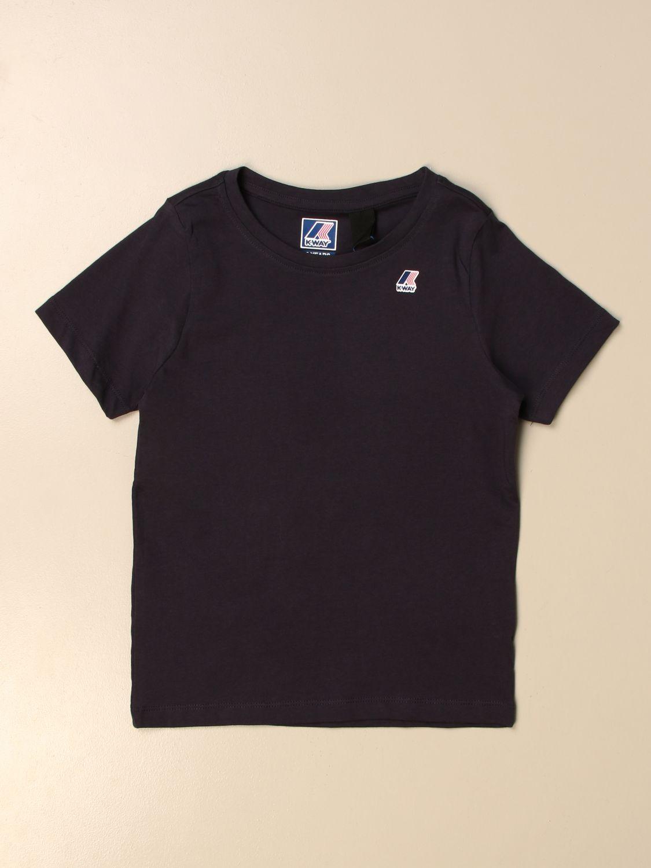 Camiseta K-Way: Camiseta niños K-way azul marino 1